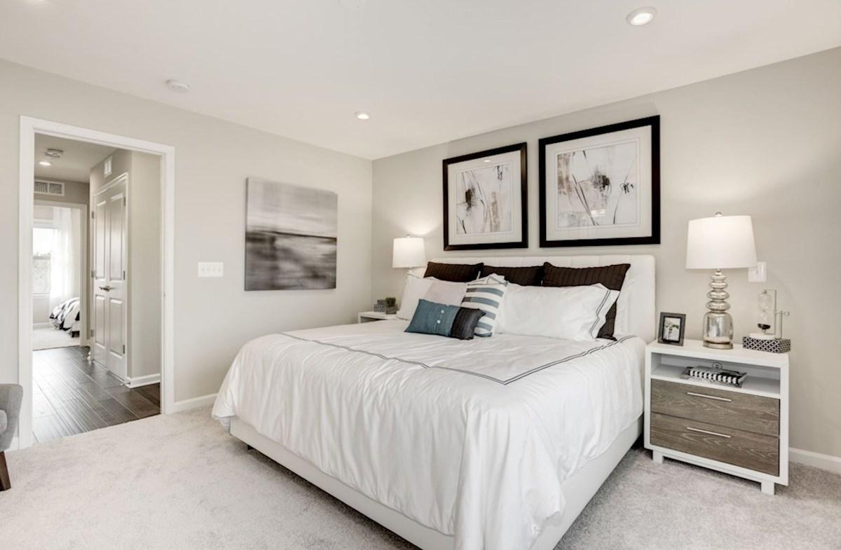 Enclave at Long Branch Alexander spacious bedroom