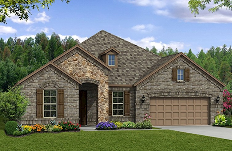 Adler Elevation French Country L