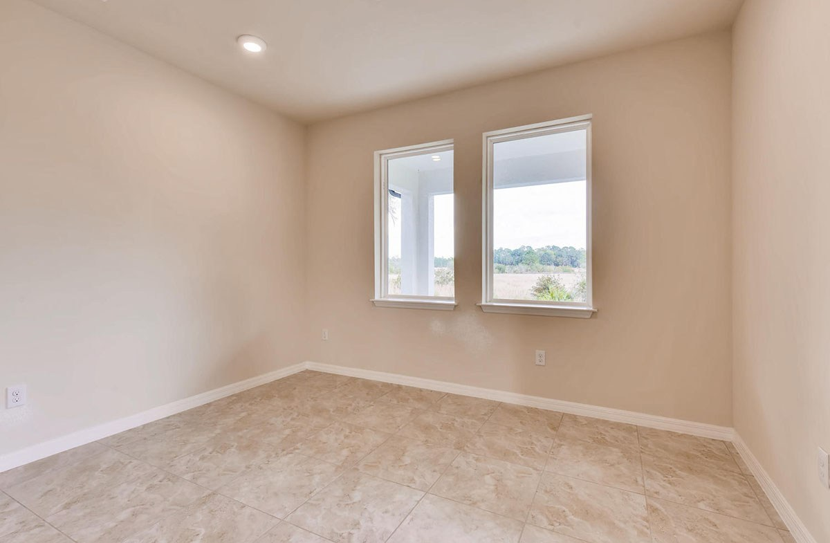 Sea Breeze quick move-in Dining room with large windows for natural light