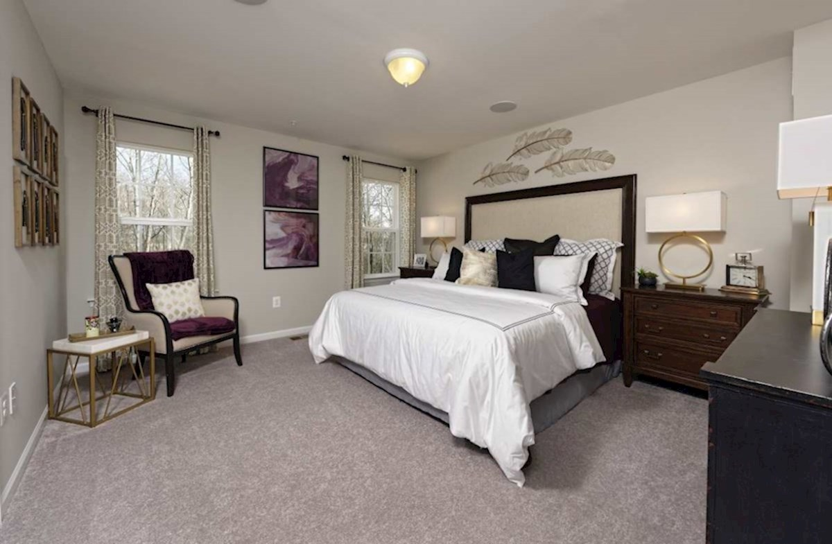 The Preserve at Windlass Run Townhomes  Vienna Vienna Master Suite