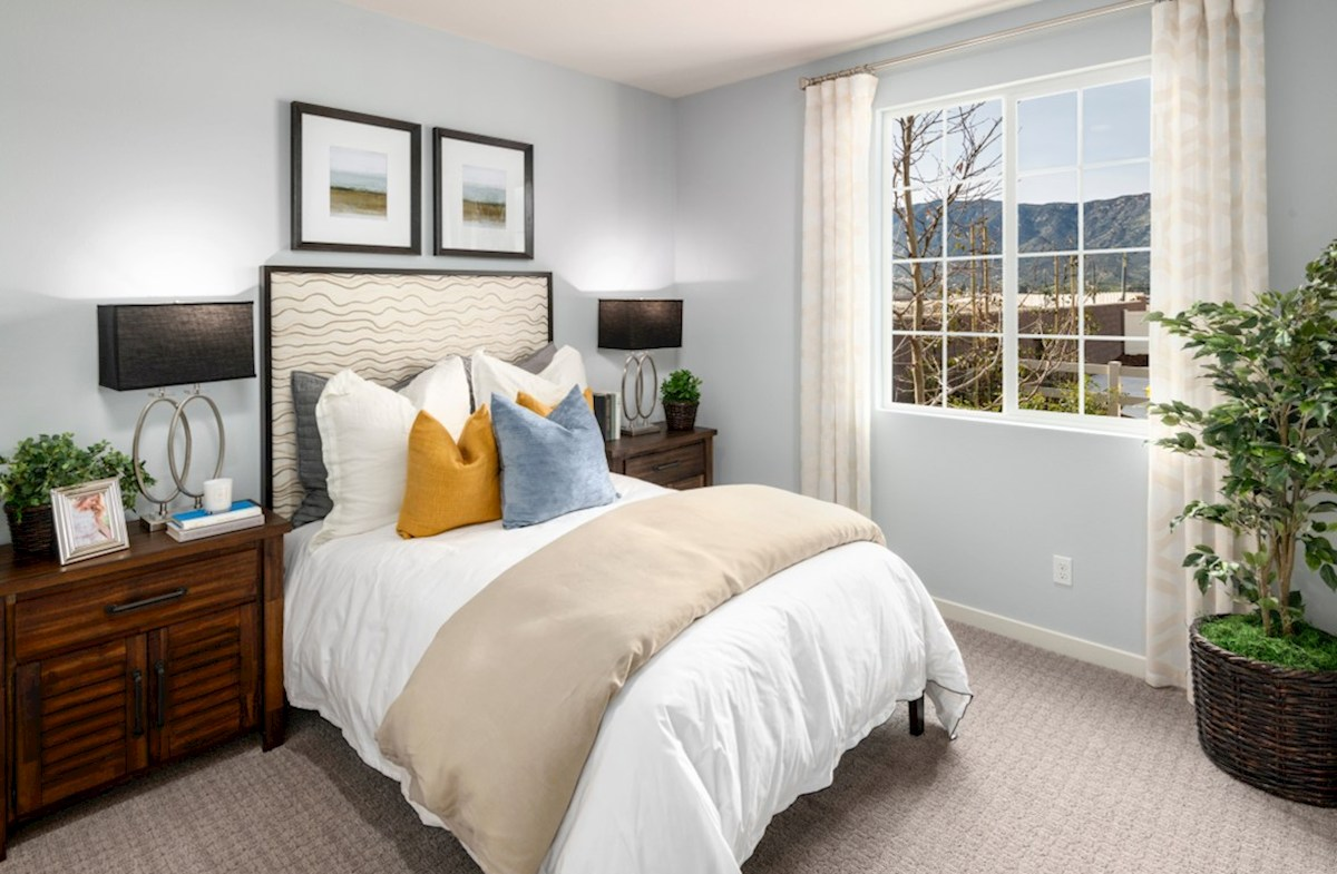 The Glen at Summerly Reserve Spacious secondary bedrooms are ideal for guests