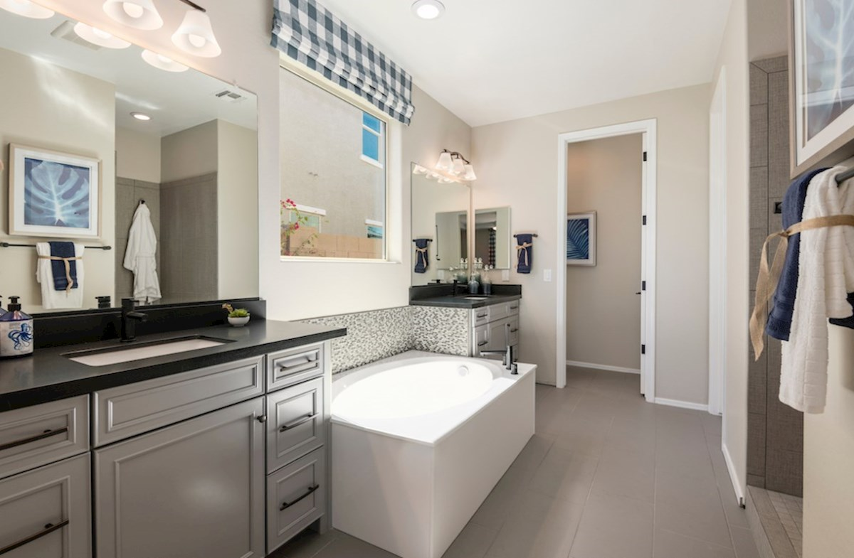 El Cidro Rockwell Rockwell Master Bathroom