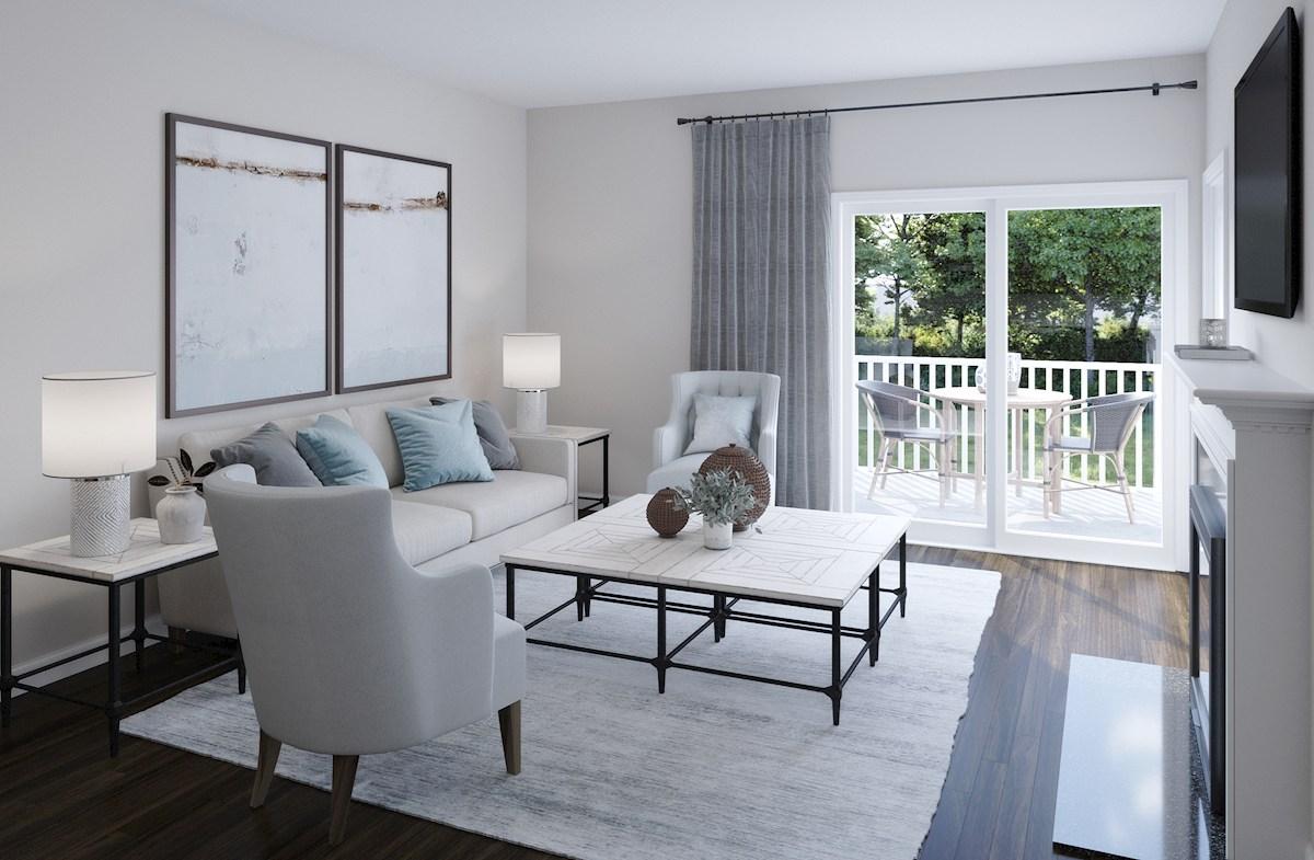armoniosa sala de estar