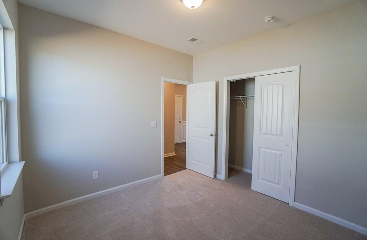Summerton quick move-in second bedroom features spacious closet