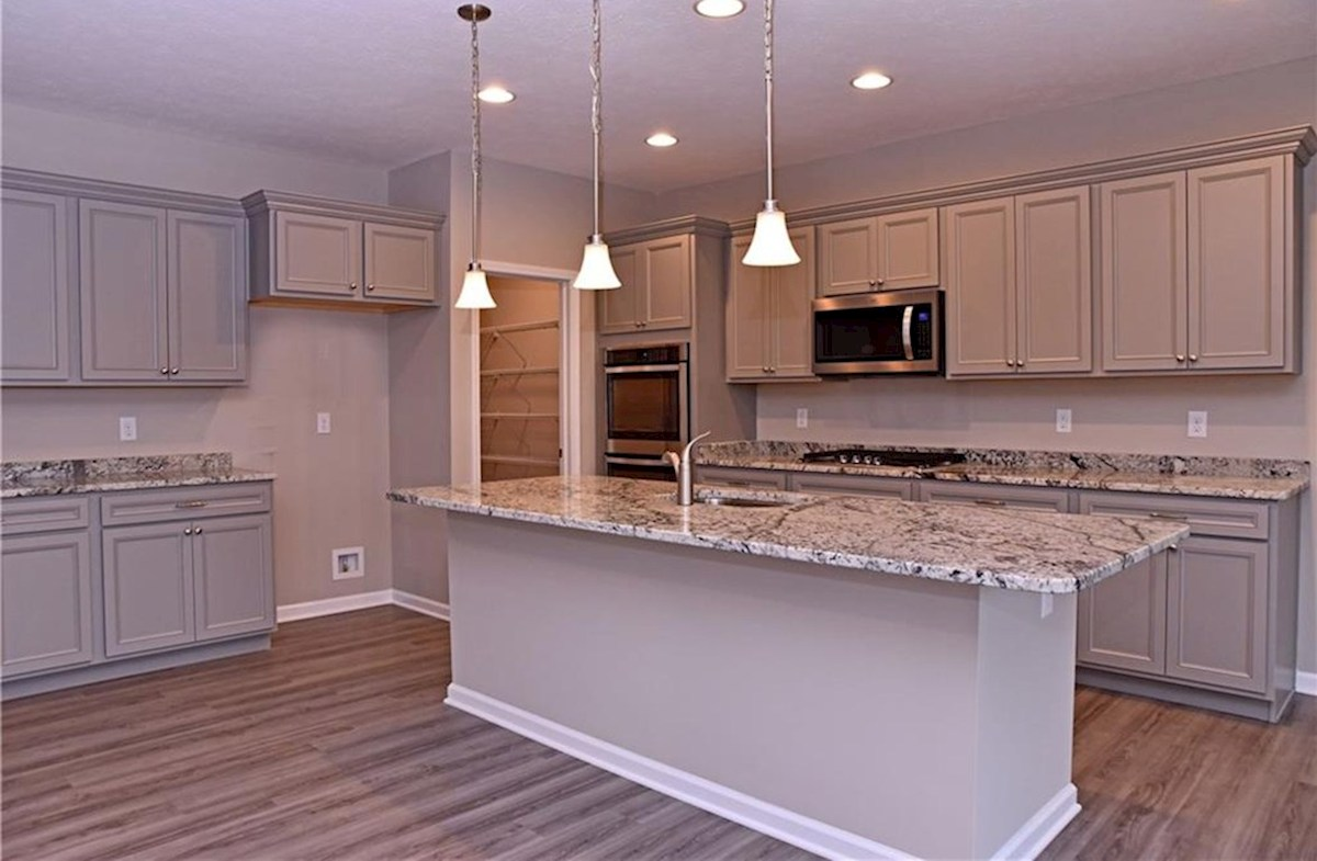 Shelby quick move-in Gourmet kitchen with quartz countertops