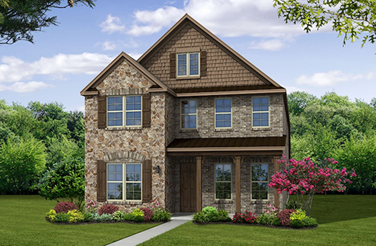 Hamilton Home Plan In Founders Parc Euless Tx Beazer