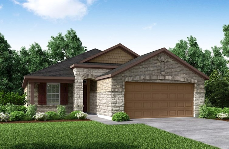 Hickory Elevation French Country A