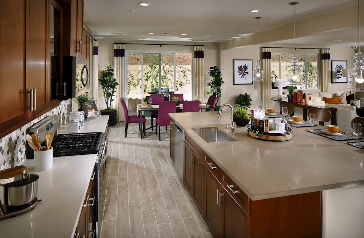 Veranda Azalea Your new gourmet kitchen opens directly to the living room so you can maximize family time.