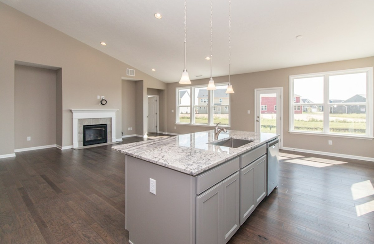 Greenwich quick move-in Maximize family time with an open kitchen