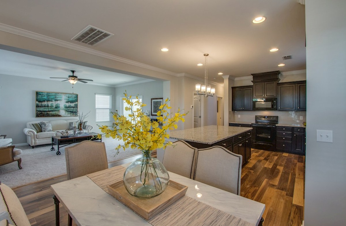 Magnolia Farms Chadwick main level offers open concept living