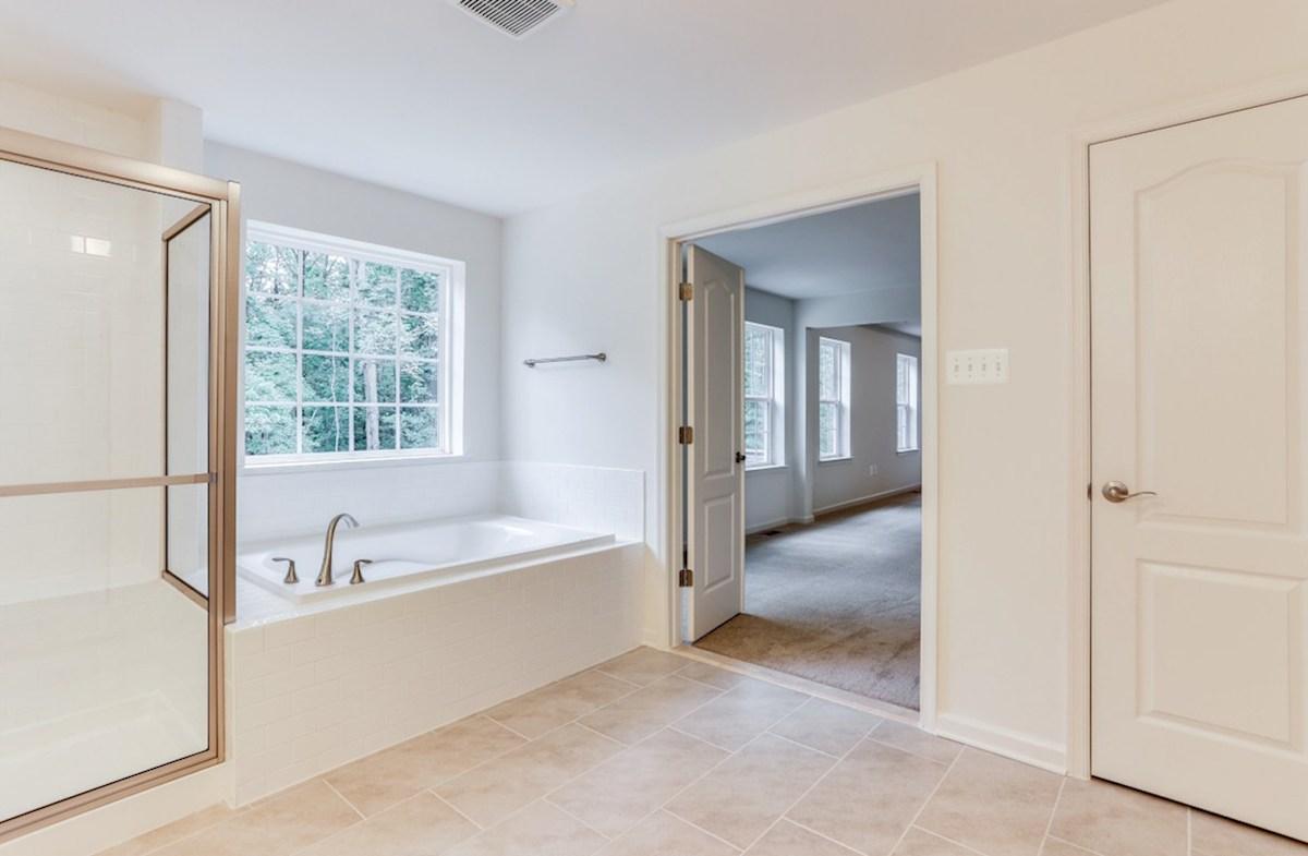 The Preserve at Windlass Run - Single Family Homes Pembrooke Pembrooke Master Bathroom