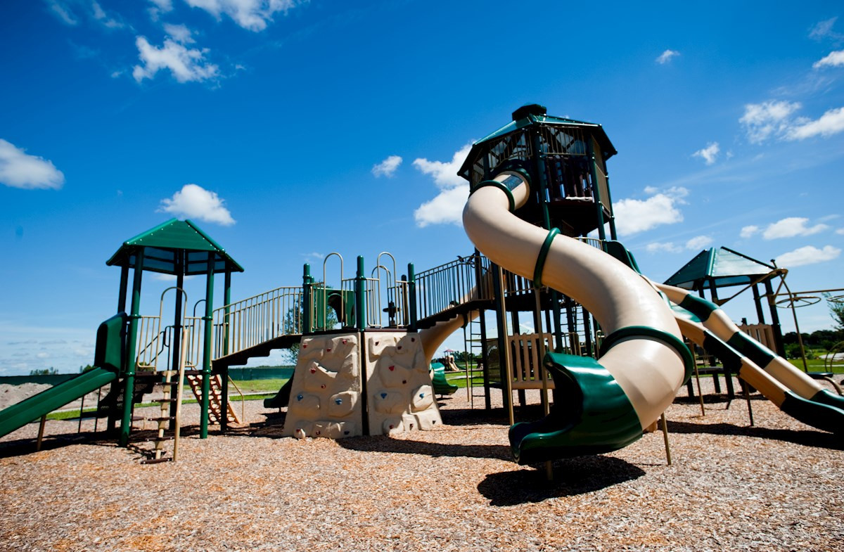 family-friendly community playground