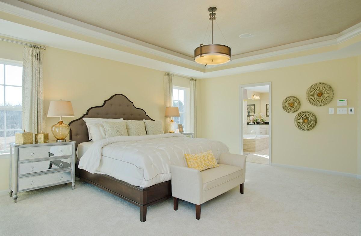 Wincopia Farms Federalsburg cozy master bedroom