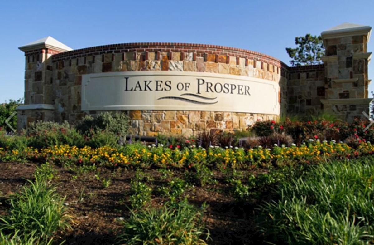 Lakes of Prosper Community Entrance