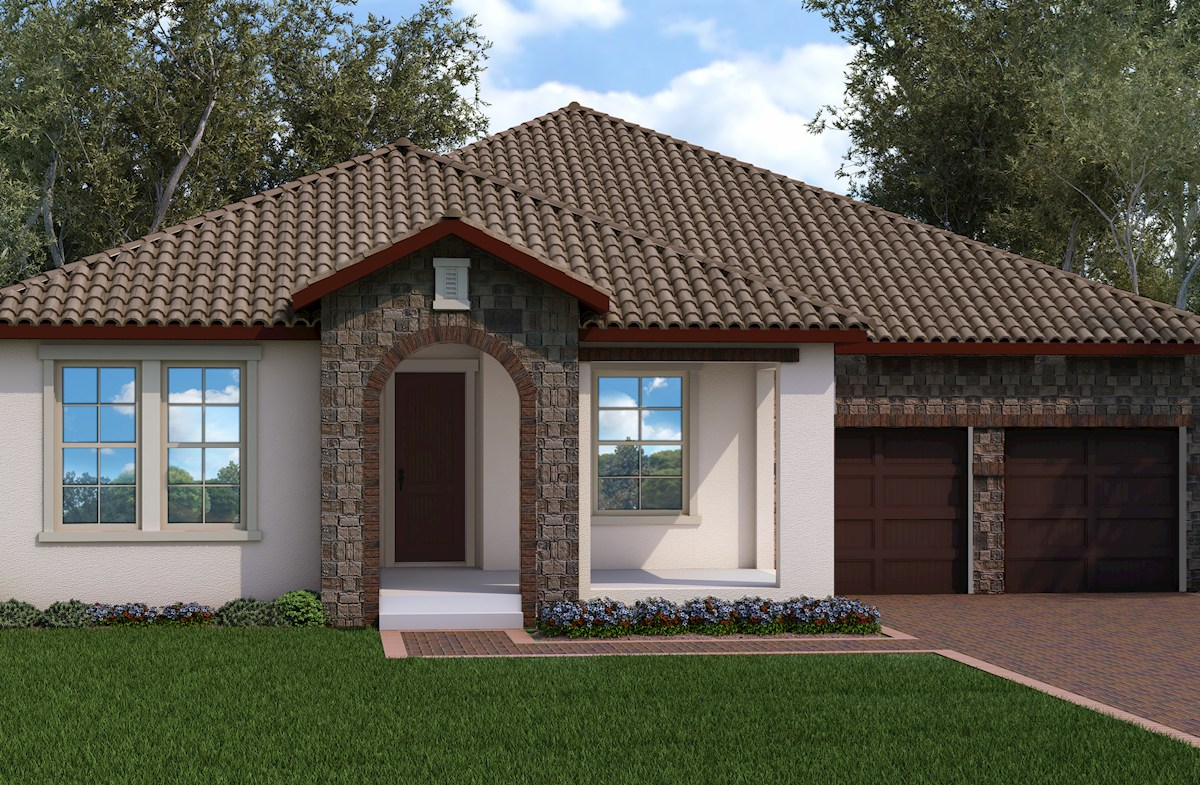 MacArthur II Elevation Tuscan M