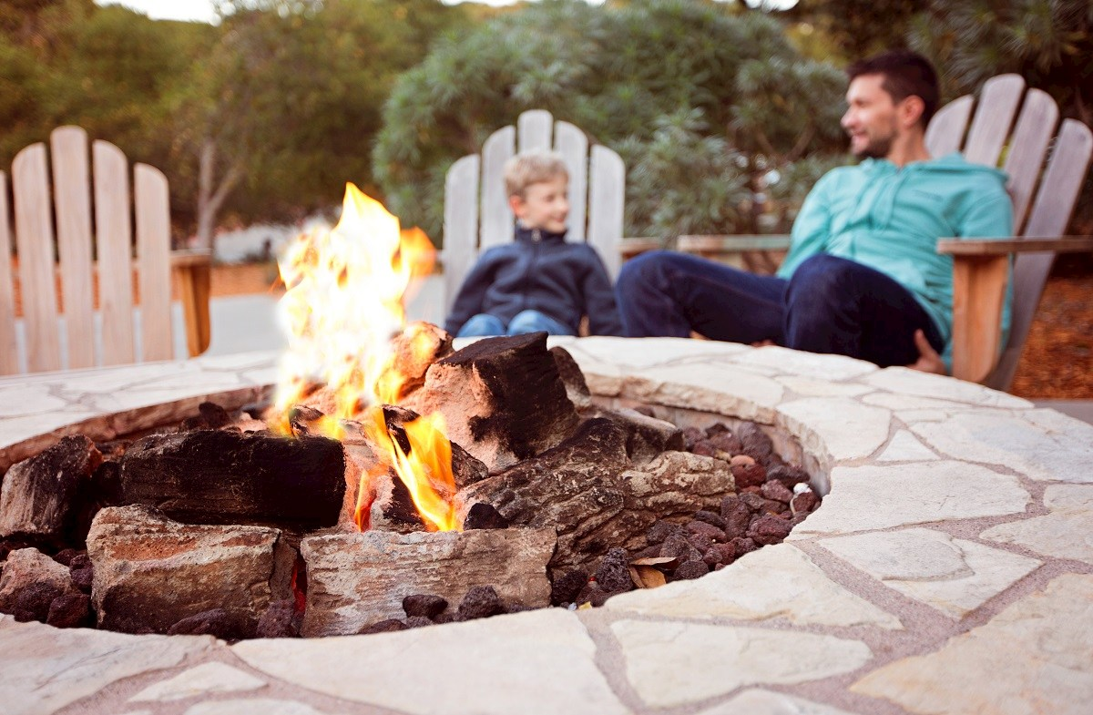 planned fire pit
