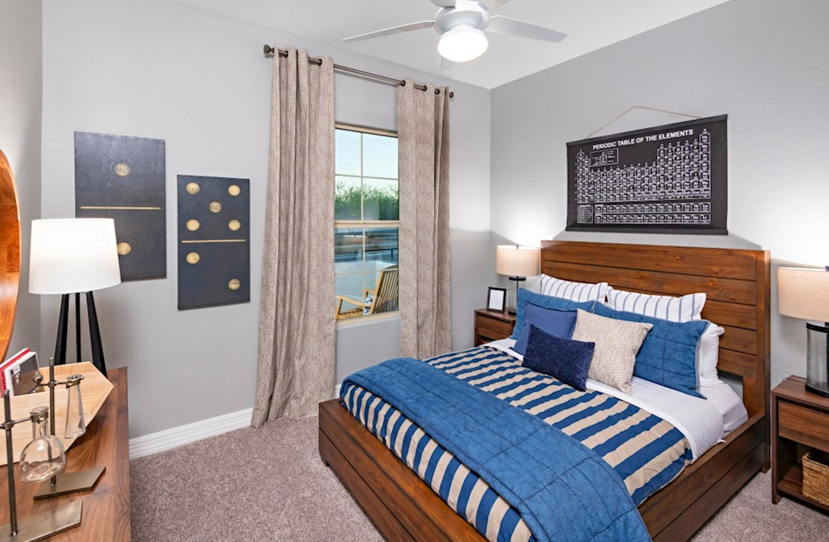 Estrella McDowell McDowell Model Secondary Bedroom
