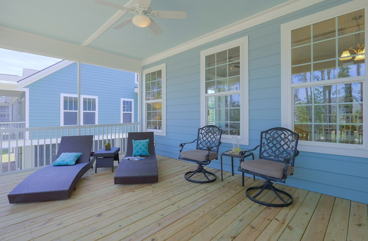 St. Thomas Preserve Tidewater spacious screened porch