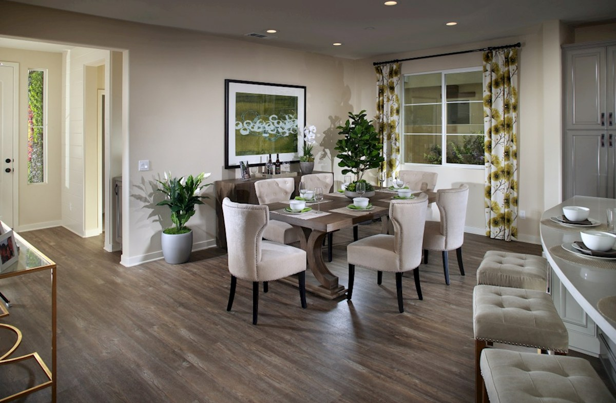 Peony quick move-in Enjoy casual dining in open-concept kitchen
