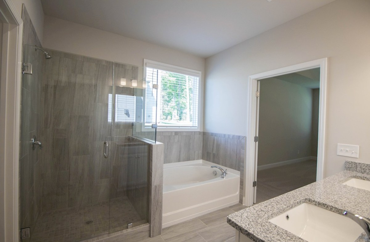 Milford Point Kensington Master Bathroom with soaker tub