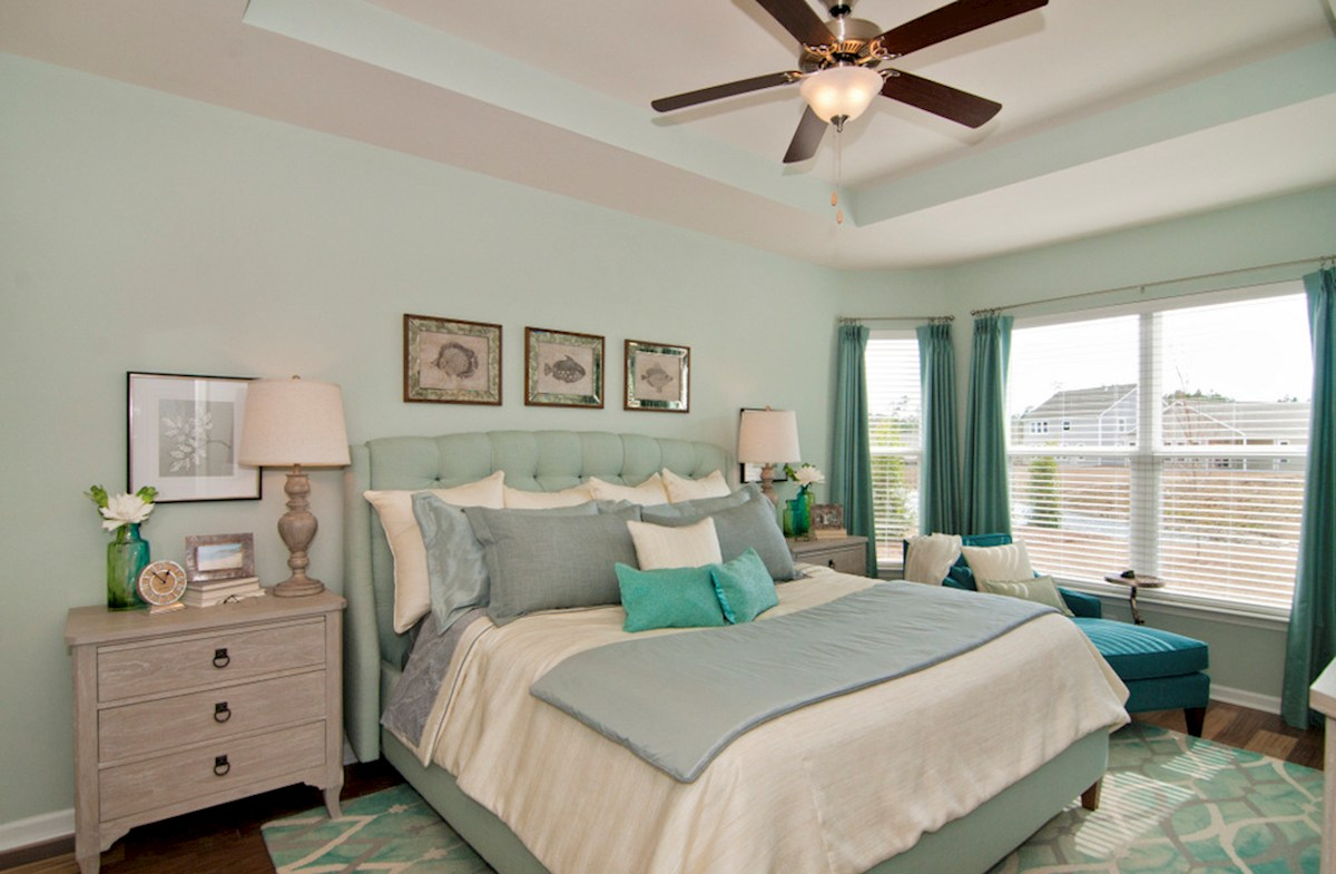 Surfside Plantation Camden master bedroom