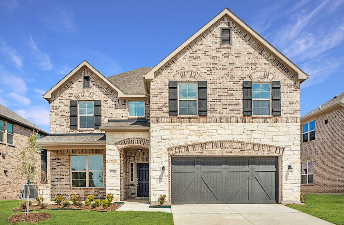 Blackburn Elevation French Country A quick move-in