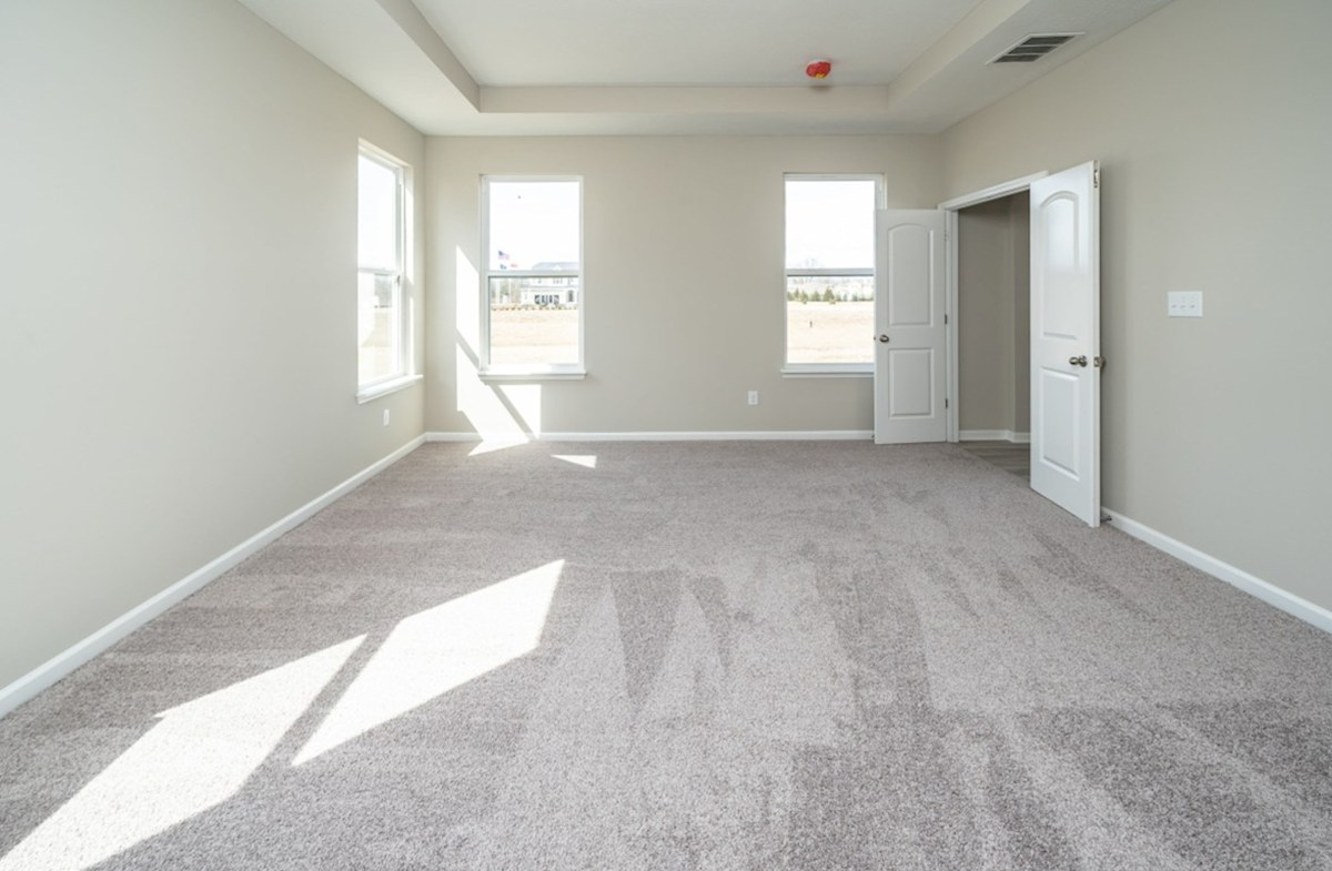 Greenwich quick move-in spacious master bedroom with trey ceiling