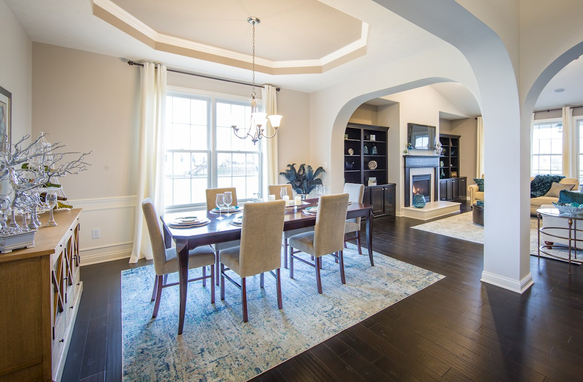 Hampshire Meridian Collection  Capitol Plenty of room for dining and entertaining