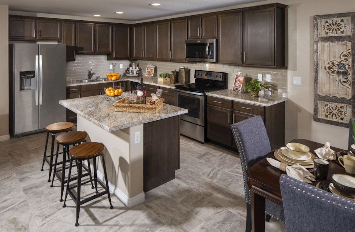 Burson Willow The Willow Kitchen with granite island