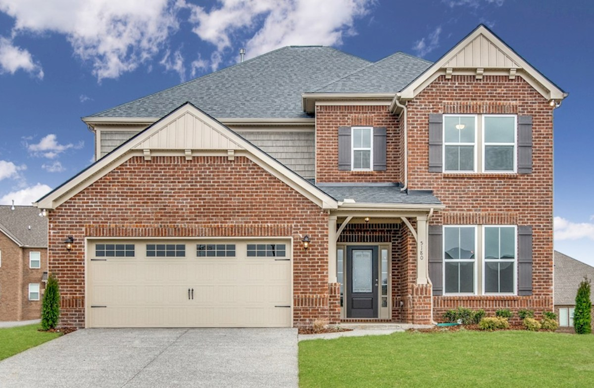 Dogwood Elevation French Country L quick move-in