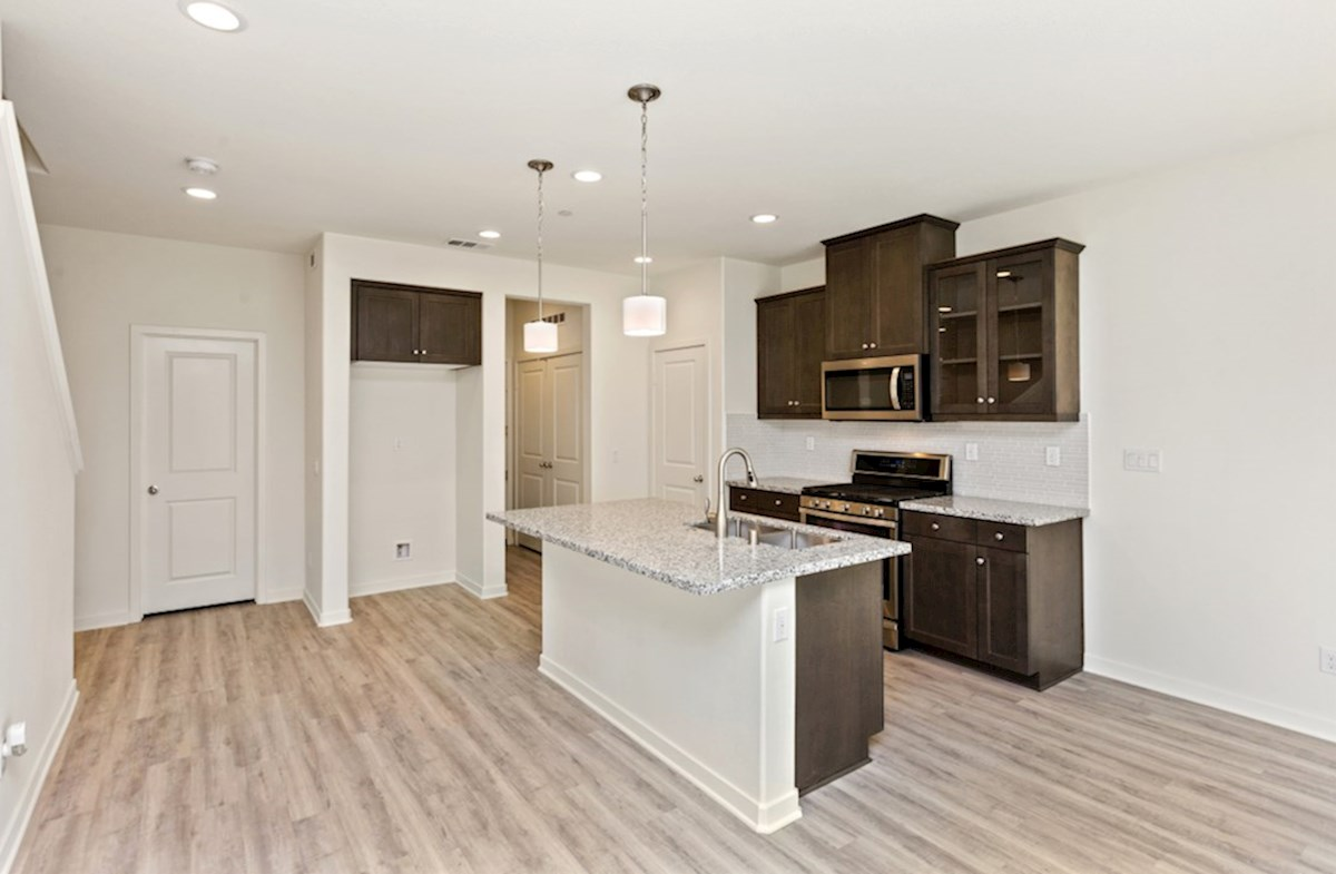 Hudson quick move-in Enjoy preparing meals while catching up on the family's day - your new gourmet kitchen opens directly to the living room so you can maximize family time