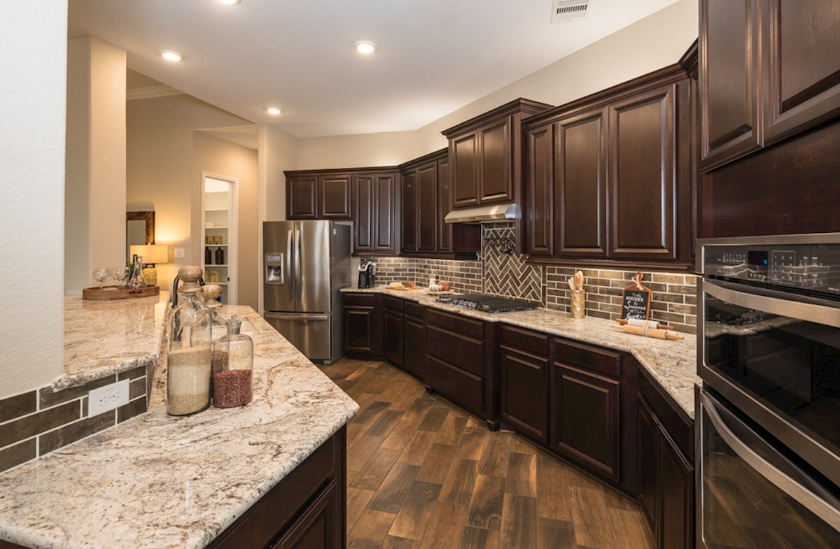 Fredericksburg kitchen with granite counters