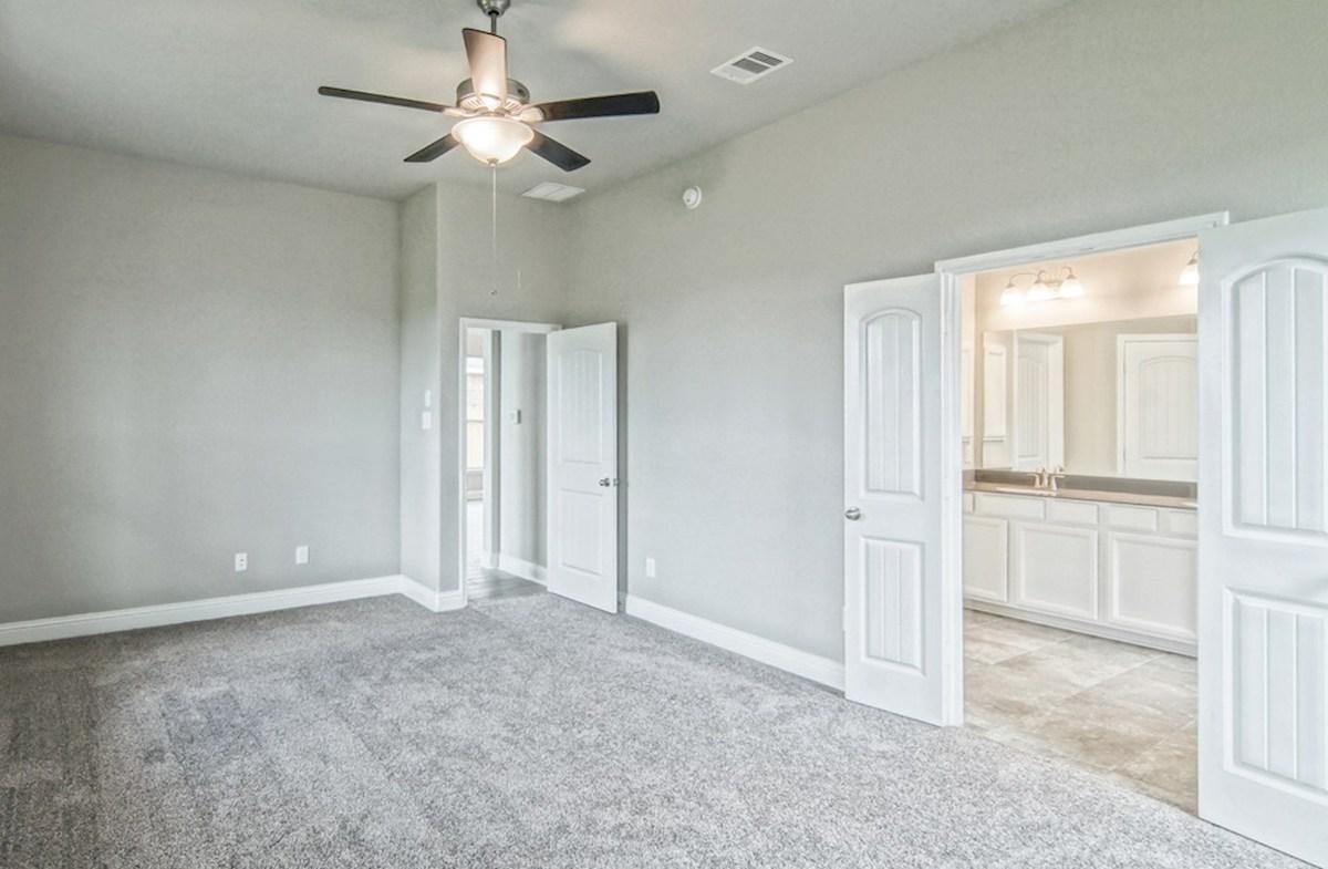Capri quick move-in private master bedroom with carpet flooring