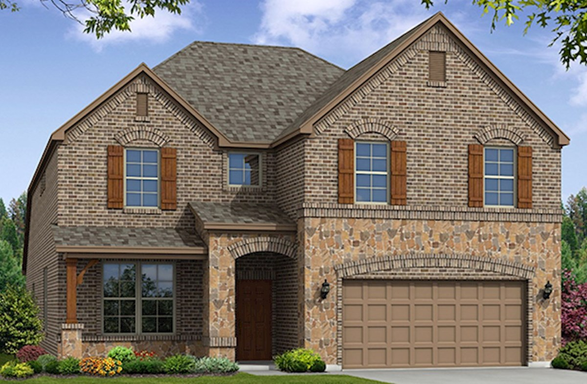 Blackburn Elevation French Country A