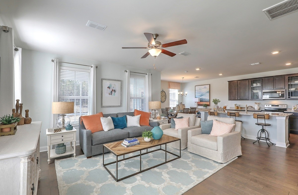 Jasmine Point at Lakes of Cane Bay Holly open-concept first floor