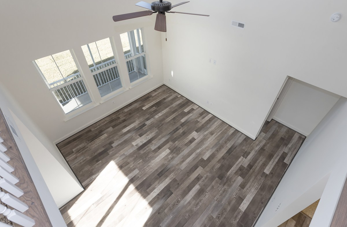 Bayard quick move-in Balcony overlooking the family room