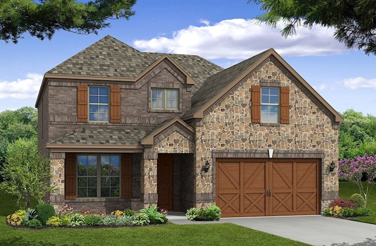 Brookhaven Elevation Traditional U