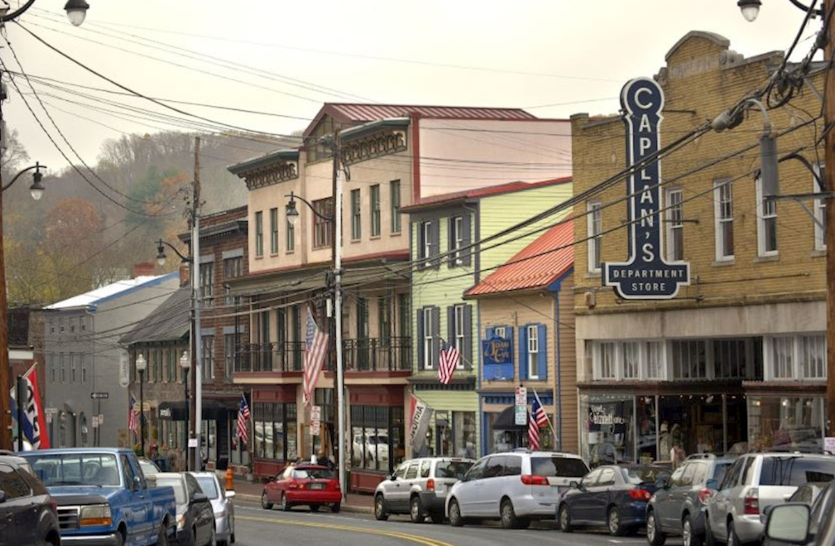 Downtown Ellicott City offers shopping and dining