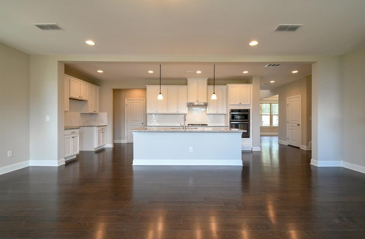 Aspen quick move-in Kitchen with granite countertops