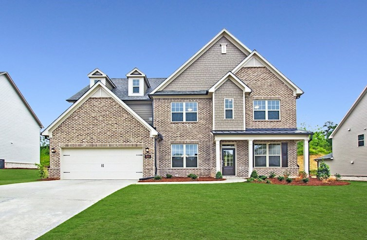 Laurel Oak Elevation Traditional M quick move-in