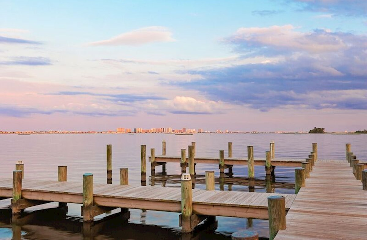 Fishing piers with views of Ocean City