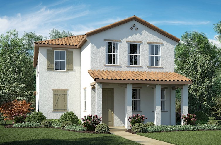 Residence 2 Elevation Spanish Colonial A