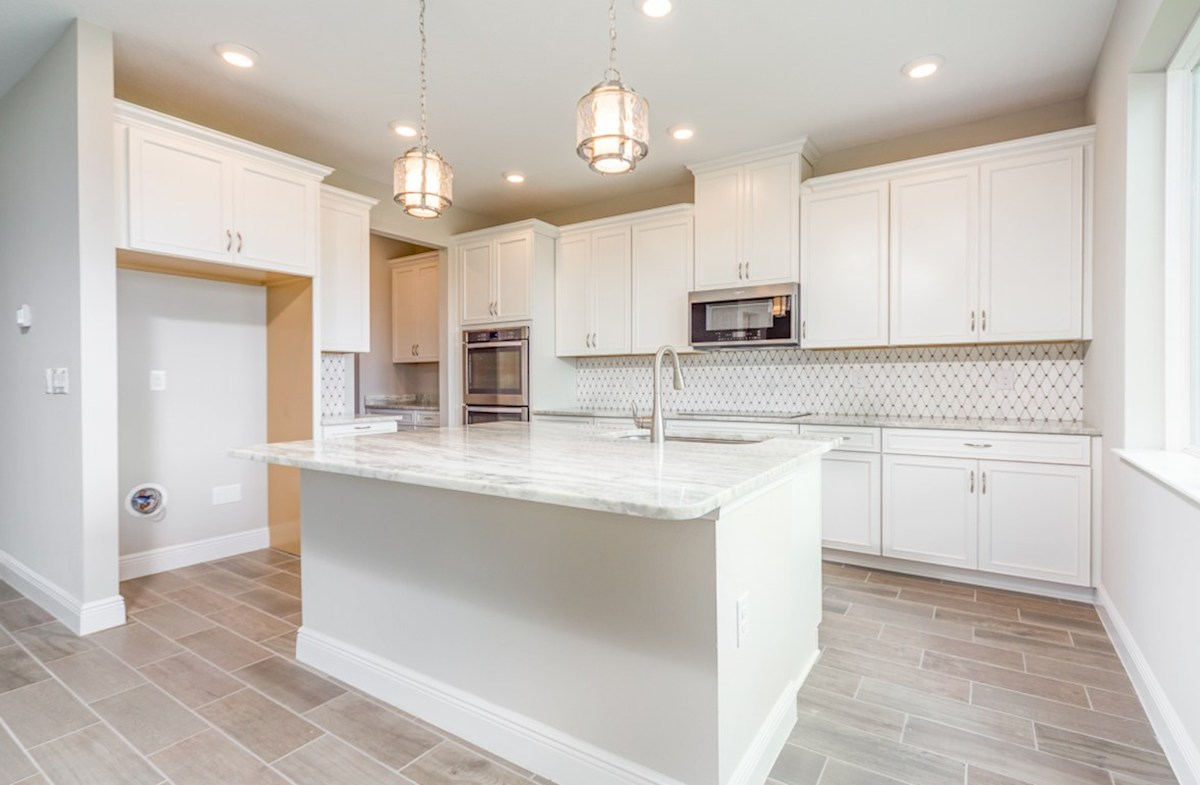 Sand Dollar quick move-in Gourmet kitchen with double oven and glass cook top