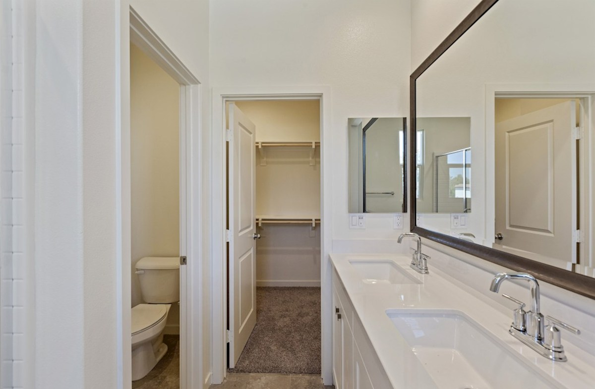 Foxtail quick move-in Separate vanities give you more space and privacy