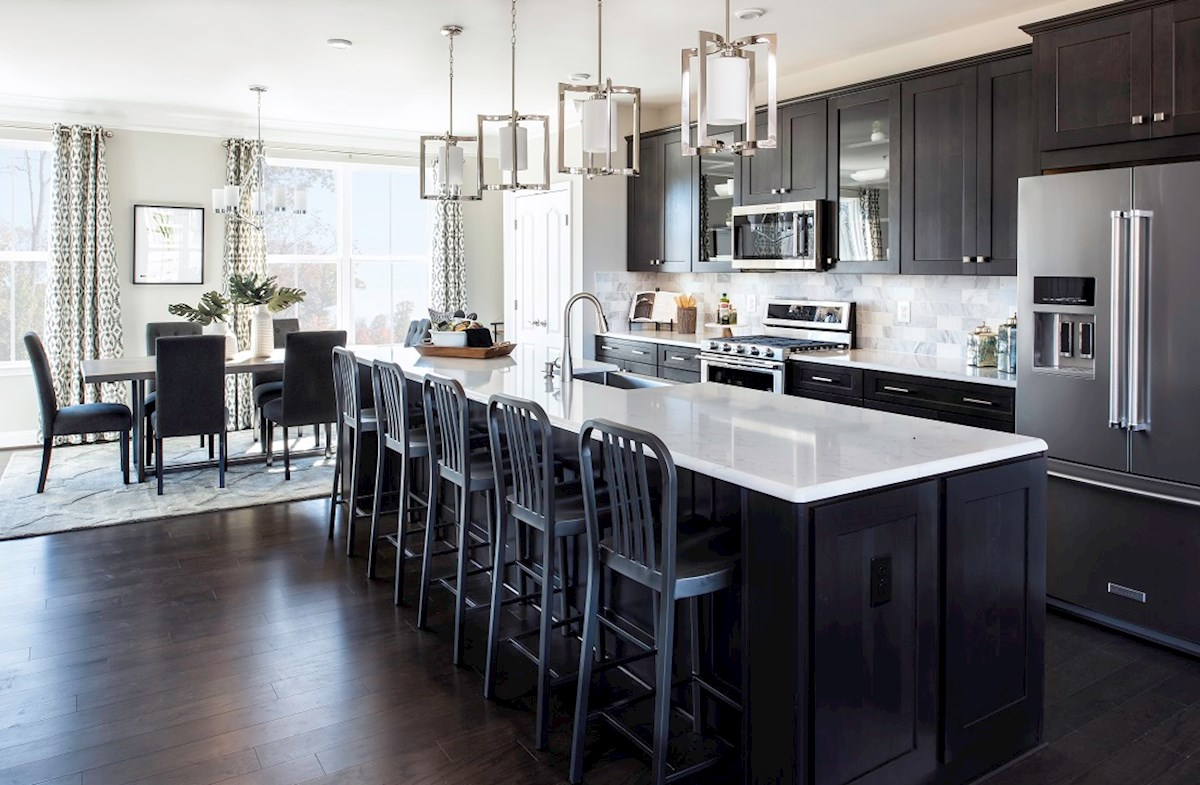 Annapolis kitchen featuring granite counters