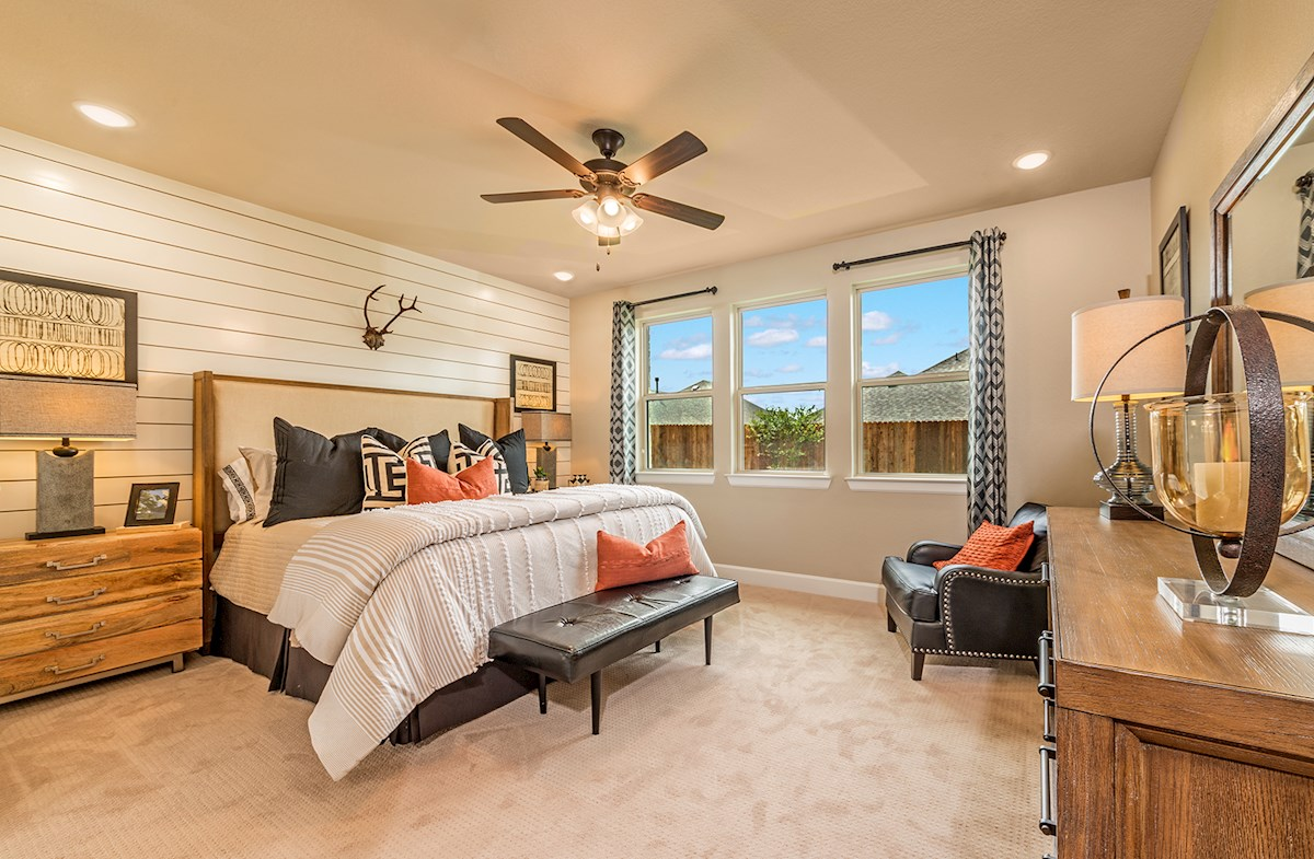 Laredo Master Bedroom