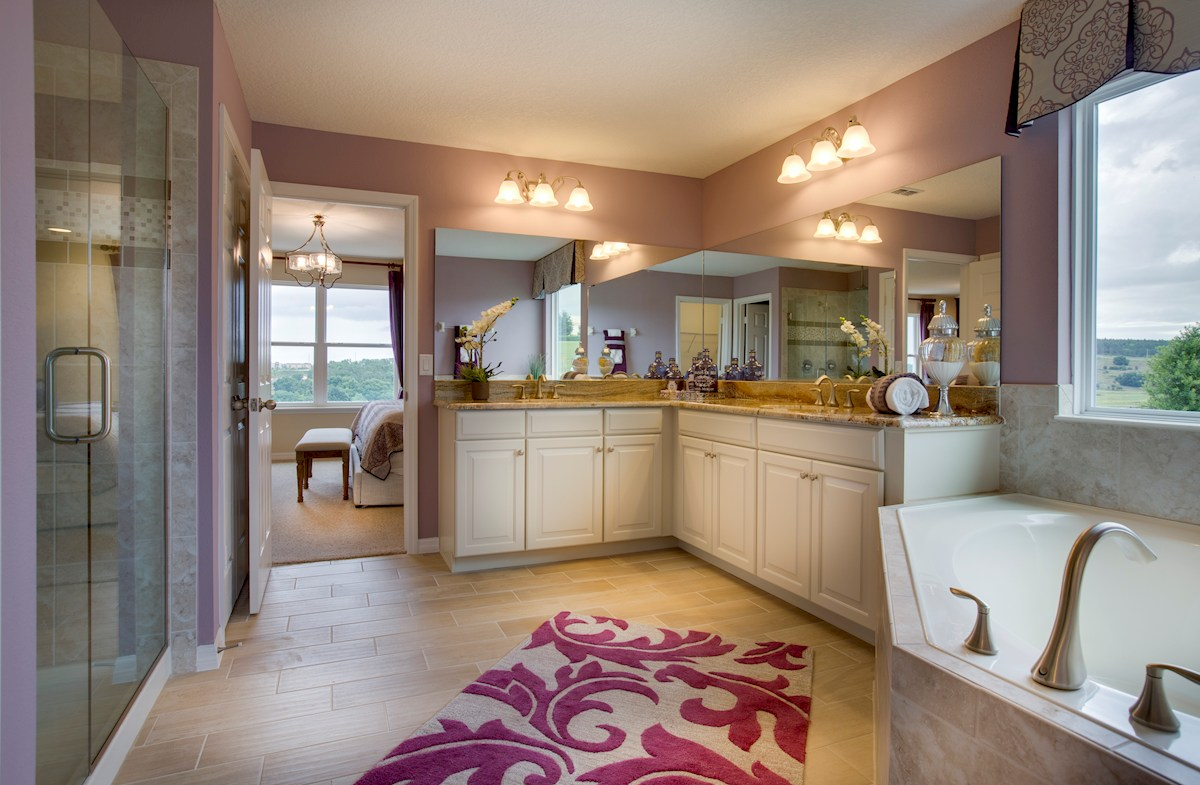 Reserve at Sawgrass Captiva luxurious master bathroom