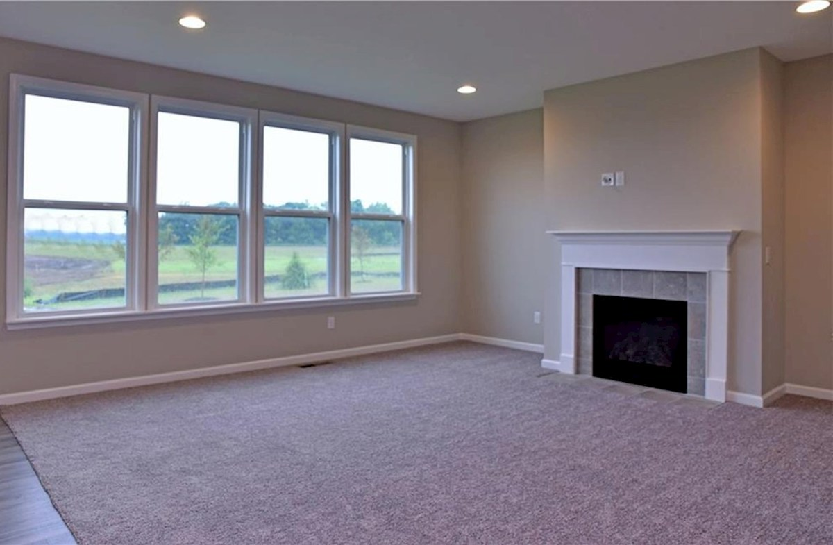 Shelby quick move-in Cozy fireplace in great room
