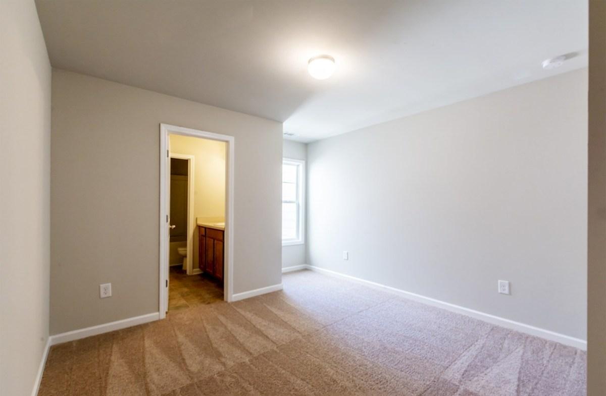 Burton quick move-in Secondary Bedroom with bathroom