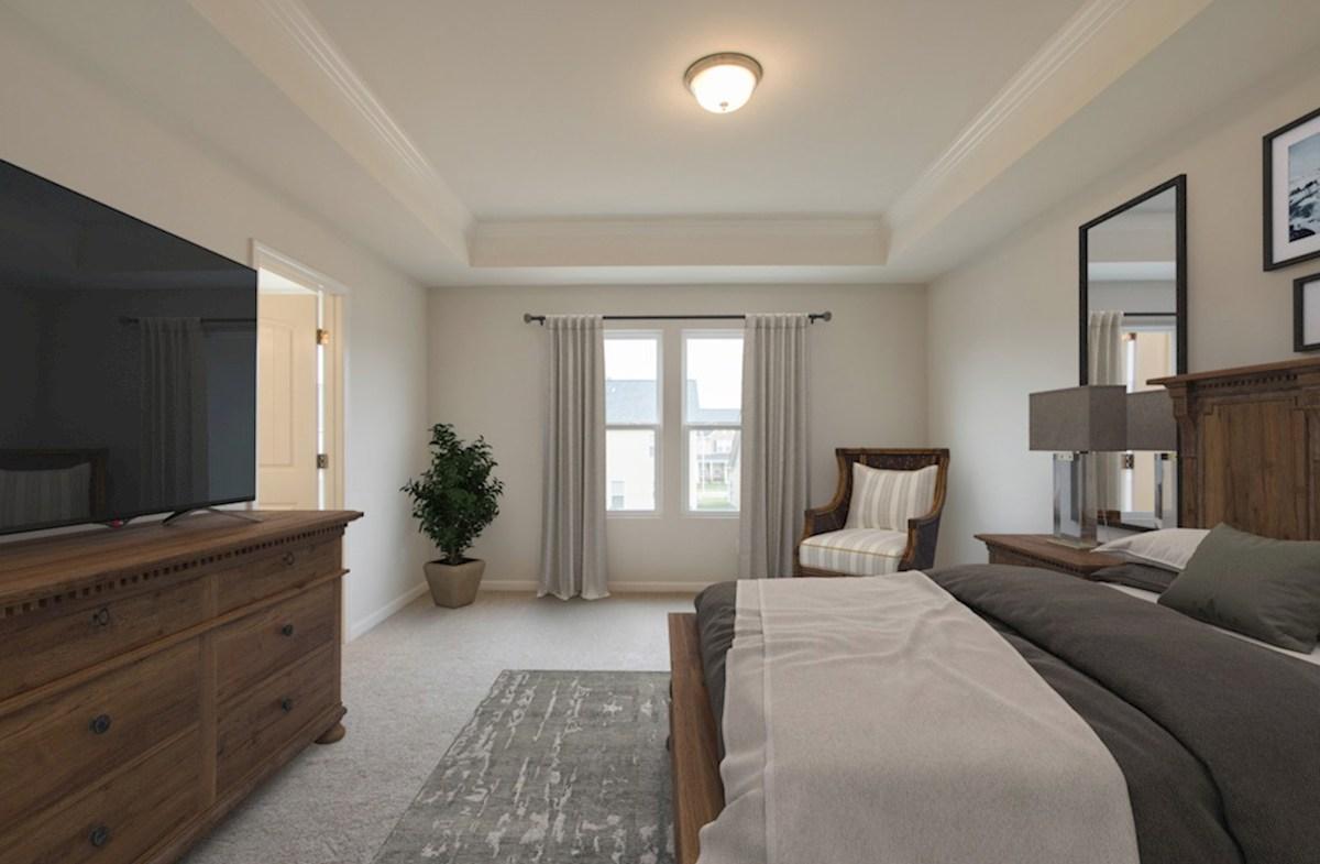 Concord quick move-in spacious master bedroom